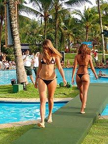 Two Girls in a Bikini Contest