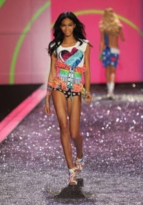 Chanel Iman Bikini Model