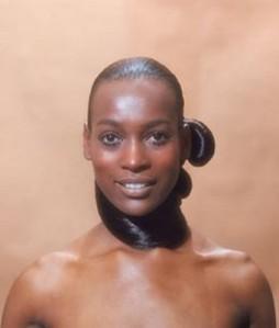 Naomi Ruth Sim black supermodel picture